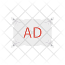 Ads Banner Marketing Icon