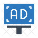 Ad Marketing Banner Icon