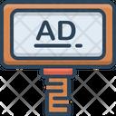 Advertisement Advertising Blurb Icon