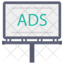 Ads Advertisement Sign Icon