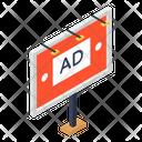 Advertisement Board Icon