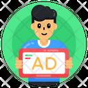 Advertisement Person Icon