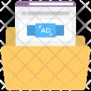 Advertisement Plan Folder Icon