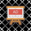 Advertisement Ads Presentation Icon