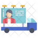 Advertisement Truck Icon
