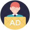 Marketer Advertiser Publicity Icon