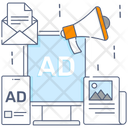 Poster Brochure Banner Icon