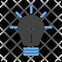Advertising Light Idea Icon