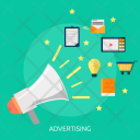 Advertising Business Concept Icon