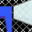 Megaphone Business Advertising Icon