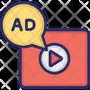 Advertising Marketing Video Marketing Icon