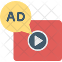 Advertising Marketing Video Marketing Icon