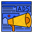 Advertising Marketing Strategy Icon