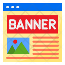 Advertising Banner Banner Ads Icon
