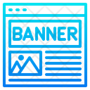 Advertising Banner Icon