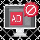 Advertising Blocking Ad Blocking Ad Blocker Icon
