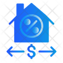 House Marketing Money Icon