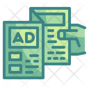 Advertising Brochure Icon