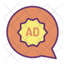 Advertising Chat Icon