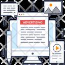 Advertising Content Icon