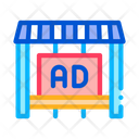 Advertising Counter Store Icon
