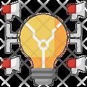 Advertising Idea Icon