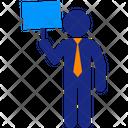 Advertising Man Icon