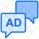 Advertising Message Advertising Marketing Icon