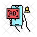 Advertisement Signal Phone Icon