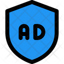 Advertising Shield Ads Shield Advertising Protection Icon