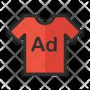 Advertising Shirt Icon