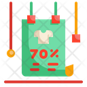 Advertising Shopping Poster Icon