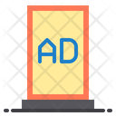 Advertising Stand Marketing Promotion Icon