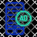 Advertising Text Icon