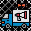 Advertising Truck Icon