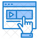 Advertising Video Ads Video Video Icon