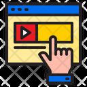 Advertising Video Icon