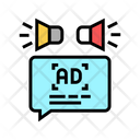 Advertisment Audio Promotion Icon