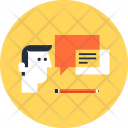 Advice Bubble Communication Icon