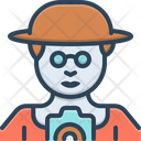 Guide Magent People Icon