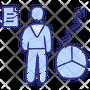 Advisory Services Analyzing Analytics Icon