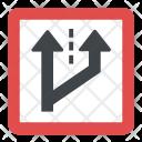 Advisory Speed Sign Icon