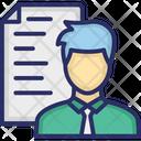 Advocate Advocate Personality Attorney Icon