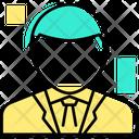 Lawsuit Lawyer Male Icon