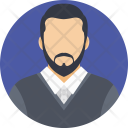 Advocate Person Lawyer Icon