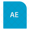 Ae Extension File Icon