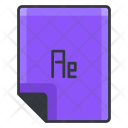 Ae File Extension Icon