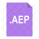 Aep File Format Icon