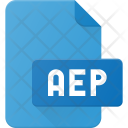 Aep File Video Icon