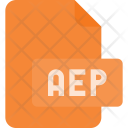 Aep File Document Icon